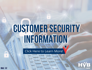 Customer Security Info