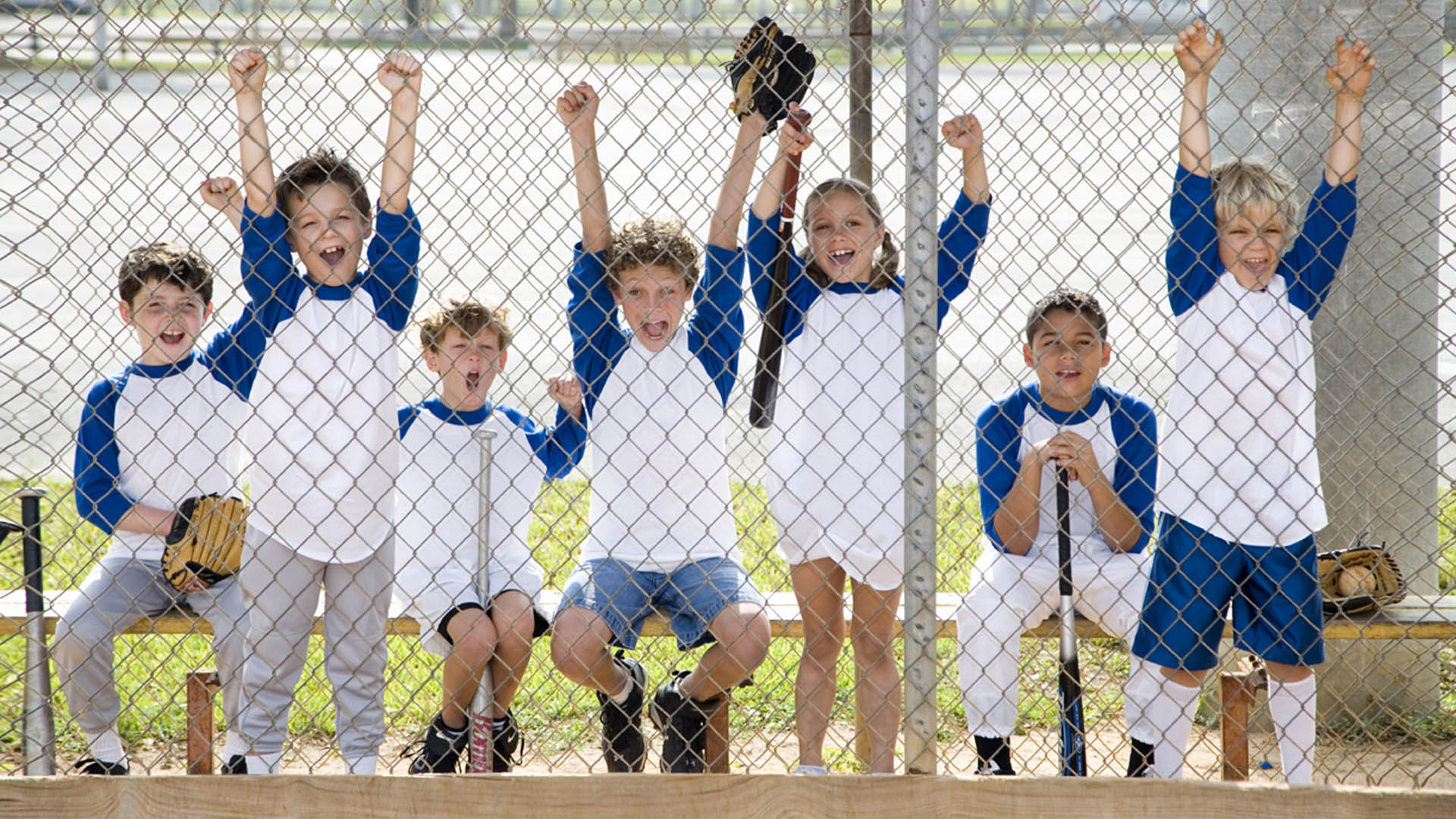 Baseball Kids Hero Image